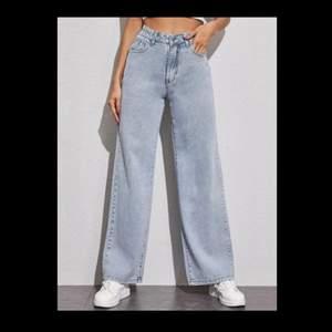 Ett par snygga vida jeans från shein. Nypris: 219kr. :)
