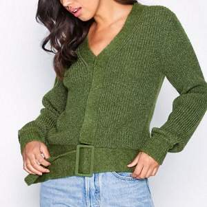 Cozy cardigan for fall with darling belt detail! Size S, brand NLY Trend