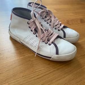 Läder sneakers