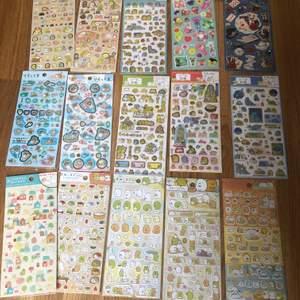 Helt nya klistermärken från Japan! 4ST för 100kr inkluderad frakt! Finns oftast bara en av varje så passa på!💞