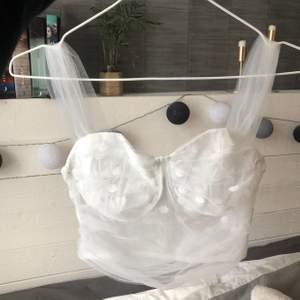 Superfint vitt linne, aldrig använt. Säljer då de tyvärr inte passade så bra på mig. Buda i kommentarsfältet, minst 10kr mellan varje bud😊