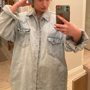 Jeansskjorta snygg med oversized fit💋