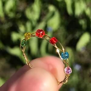 Egengjord Infinity stone ring som anpassas utefter din storlek💫 perfekt för alla marvel fans därefter☝️💗