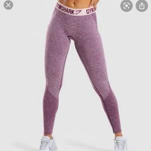Gymshark leggings i strl S rosa, använda cirka 4 gånger Max. Modellen flex leggings 💞💕⚡️