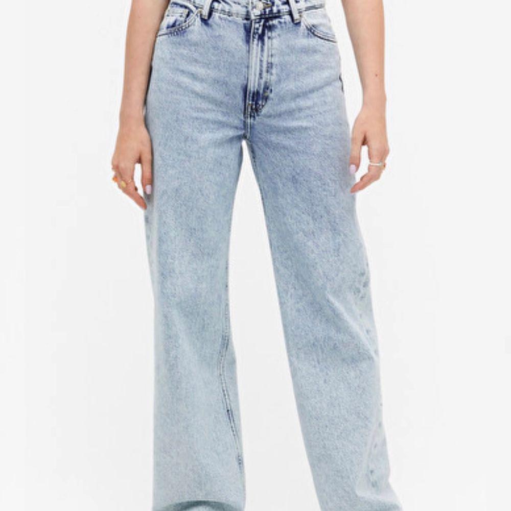 Lånade bilder från monkis hemsida, YOKO jeans, använda men fortfarande ett bra skick, säljer för de har blivit förstora, pris+frakt💗. Jeans & Byxor.