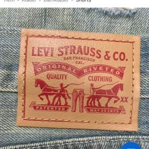 Shorts från Levis jag köpte men som inte passade mig! Bra skick:) frakten är 48kr