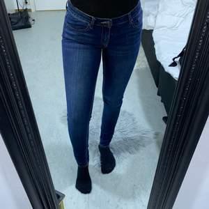 Säljer mina skit snygga jeans från DENIM pimkie. Sitter fint på och är max använda 2 gånger. De är i storlek 34 och jag som 36 och uppåt kan få i mig de fast sitter tajtare, beror på hur man vill att jeansen ska sitta.😇 Frakt kostanden kan såklart kollas upp. Pris kan såklart diskuteras