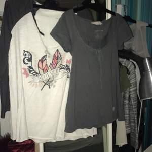 Odd molly kläder storlek 0, 100kr styck för tröjor och beige kofta och 250 för grön kofta