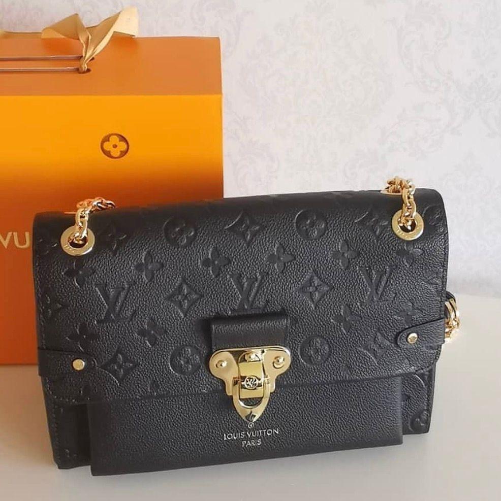 Louis Vuitton väska i 100% äkta läder ingår box kvittot påse . Väskor.
