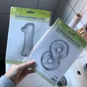 Nya ballongen som man kan ha på kalas :) köpta på Ullared men glömde bort att jag hade köpt dom dagen då jag fyllde år :) Lägg bud
