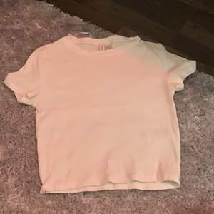 Basic vit t shirt från H&M