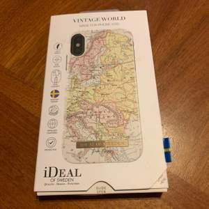 Ideal of Sweden skal som passar till iPhone X/XS. Aldrig använt. Står inte gör postens slarv!