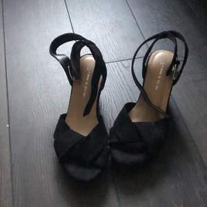 Svart finare sko storlek 36