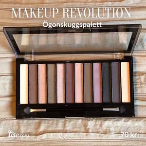 Säljer denna fantastiska ögonskuggspalett från Makeup Revolution 💄Endast testad!