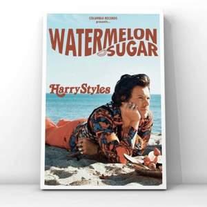 En watermelon sugar poster, säljer pga råkade köpa en för mycket. Priset är 150kr+frakt, kan även mötas upp ( pris kan diskuteras)