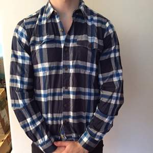 Vailent clothing. Flannel shirt bought at Carlings. Size S but fits S/M.