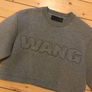 Aldrig använd Alexander Wang x H&M! Jag har den i svart som jag säljer här också! Tyget är scuba och den är kort och bred i modellen. Frakt: 70kr🎈💌
