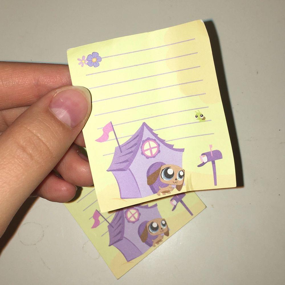 Jag har 4st kvar! Små söta brevpapper från pet shop. 🐌🐹🍃😍 Se även mina andra annonser med små prylar för att få samfrakt!. Övrigt.
