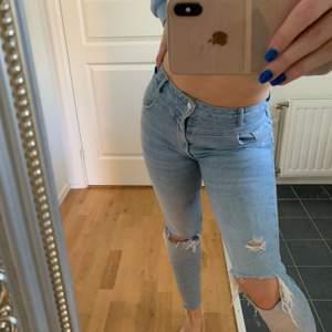 Blåa jeans från bershka💕💕