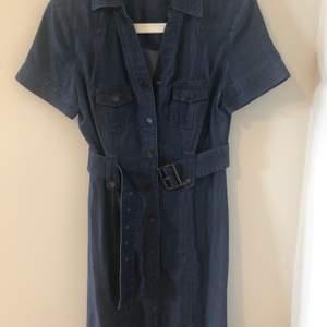 Jeans klänning från stockhlm