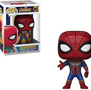Jag söker efter dessa funk pop figurer. Det behöver inte vara EXAKT dem här men det ska vara Spider-man, iron man eller thanos! ‼️KÖPER BARA FÖR BILLIGT/VÄLDIGT BRA PRISER‼️ meddela mig om du har!