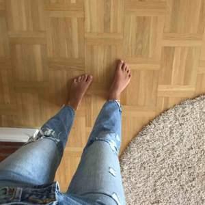 Ett par fina vintage straight jeans, nästan helt oanvända