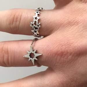 Säljer dessa ringar, 50kr styck +10kr frakt, fri frakt vid köp av fler än en💕