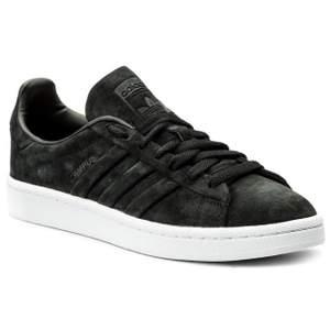 Adidas Originals campus svart mocka stl 38,5, endast använda en gång så toppenskick.