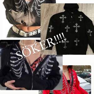 Söker y2k hoodie med rhinestones, kan betala högt pris!💗 Kom dm om du säljer