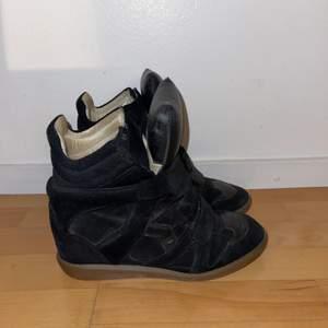 Svarta isabel Marant skor. Köptes för 5000kr.