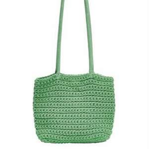 Köp finaste virkade väska i en fin grön färg! Jättegullig, och kan spicy upp ett tråkigt outfit! (Ny pris 199kr)