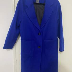 So beautiful blue Coat. Like a new . Siz L