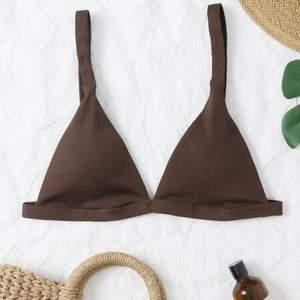 Skit snygg brun bikini från shein som tyvärr är för liten