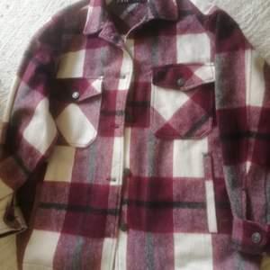 Superfin vårjacka, lumberjack skjort/jacka. Oanvänd