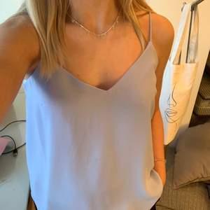 Ljusblått linne, aldrig använt 💙 Skriv om du har frågor! :)