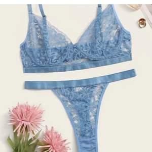 Säljer nu detta superfina underklädesset som aldrig använts. Söker då bh-n tyvärr är för stor för mig🥰