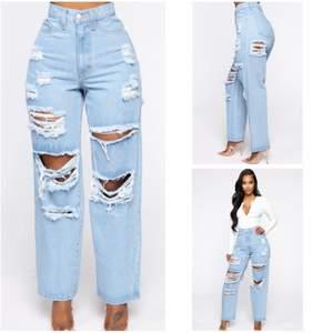 Mom jeans från Fashionova, helt nya. Har lapp kvar.