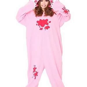 Jätte mysig kigurumi med Gloomy bear! Perfekt kostym eller bara pyjamas, säljer då det inte är min stil längre. Knappt använd!
