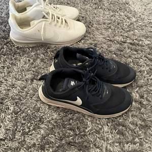 Vita Nike storlek 40. Blåa Nike 38,5. 100kr/styck!