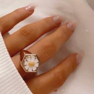 Liknande ring som Zend details x Zennufer, storlek 7. Superfin till sommaren och våren.  159 +11 kr frakt. Bilden är min.