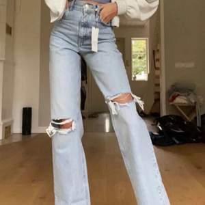 Jätte fina jeans ifrån zara men säljer då dom inte passa på mig