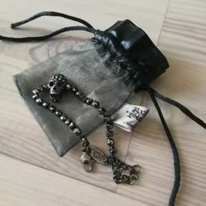 Ett armband från Laila bagges märke rock by Sweden, använt men inga tecken på slitage.