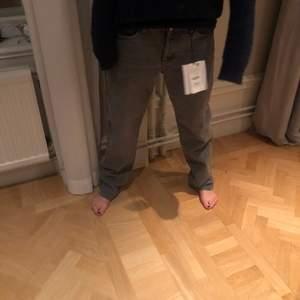Populära grå zara jeans aldrig använda❤️
