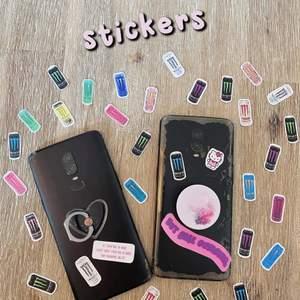 Vi har gjort egna små Monster Stickers (bästa drycken!!) 🔥 Välj själv bland dina favoriter, 5st för 30:- 🖤 Vi använder dom bland annat i vår Bullet journal, mobilen och datorn 💕