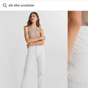 Superfina trendiga jeans från ginatricot. Superfina men tyvärr för små för mig, endast använda en gång! Frakt intränat i pris💞💞