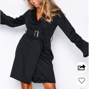 Säljer den här super fina klänningen, knappt använd. Från Nelly💕💕💕 köparen står för frakten