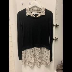 Skjorta och tröja kombo