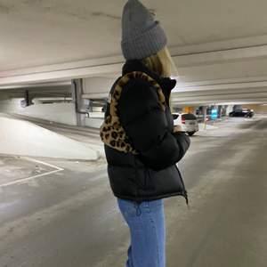 Leopardmönstrad väska i nyskick☺️