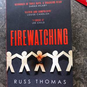 "selling ""fire watching"" in english! read once and in perfectly new condition. bought at akademibokhandeln for 169"