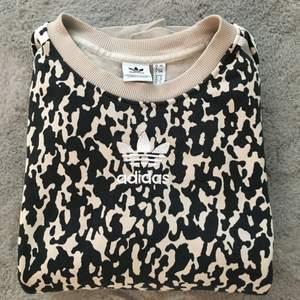 Leopardmönstrad tröja strl 34 oversize 💛🐆